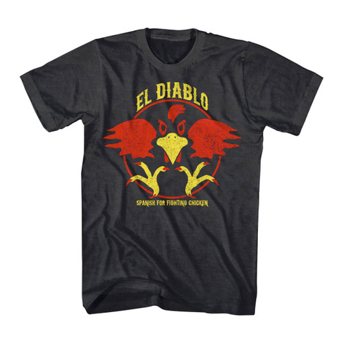 Image for Talladega Nights El Diablo Heather T-Shirt