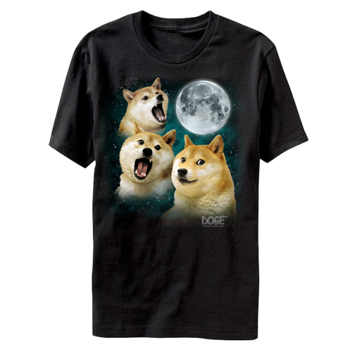 Image for Doge Three Doge Moon T-Shirt