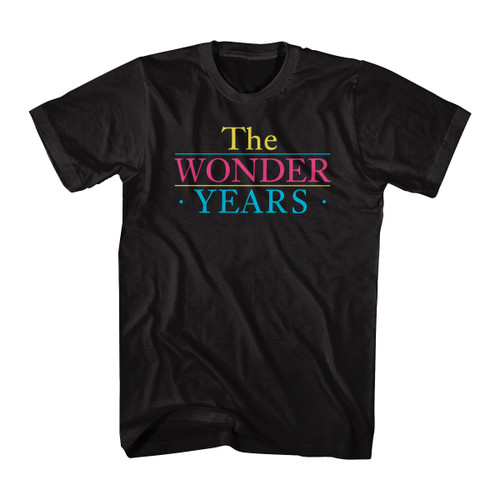 Image for The Wonder Years Logo T-Shirt