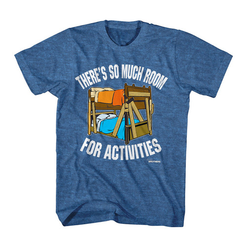 Image for Step Brothers So Much Room Heather T-Shirt