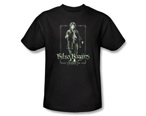 Image Closeup for The Hobbit Bilbo Stare T-Shirt