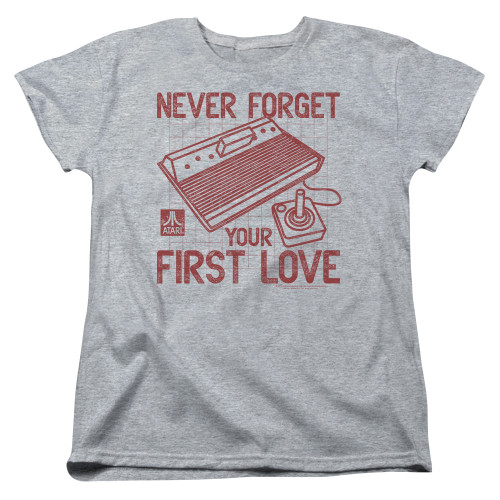 Image for Atari Woman's T-Shirt - Never Forget Your First Love