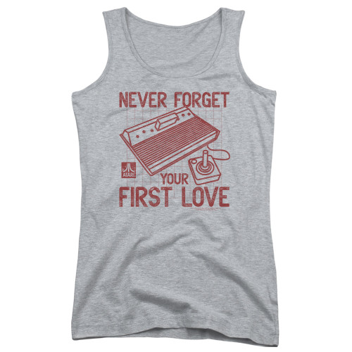 Image for Atari Girls Tank Top - Never Forget Your First Loves