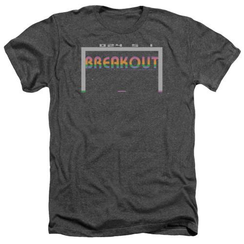 Image for Atari Heather T-Shirt - Breakout 2600
