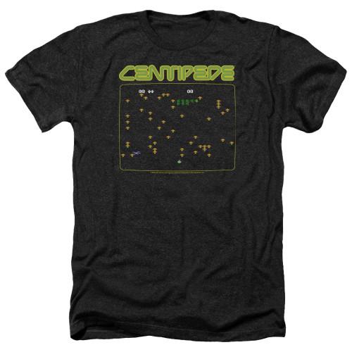 Image for Atari Heather T-Shirt - Centipede Screen