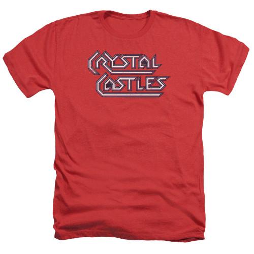 Image for Atari Heather T-Shirt - Crystal Castles Logo