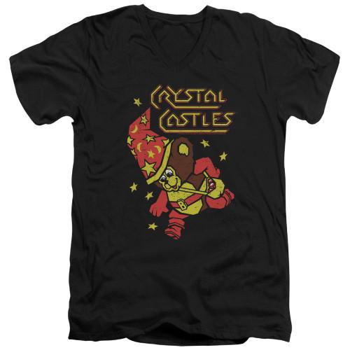 Image for Atari V-Neck T-Shirt - Crystal Castles Bear
