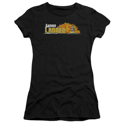 Image for Atari Girls T-Shirt - Lunar Lander Marquee