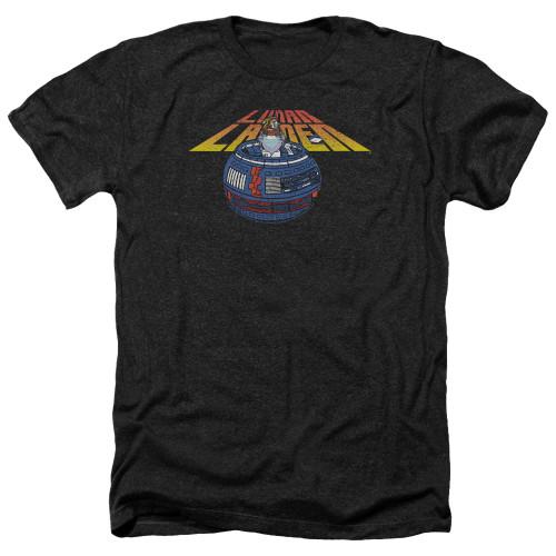 Image for Atari Heather T-Shirt - Lunar Lander Globe