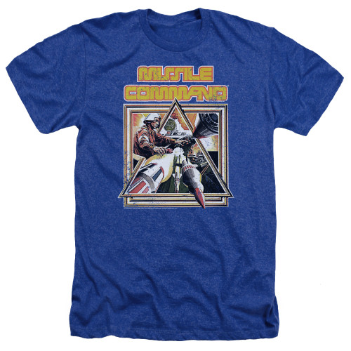 Image for Atari Heather T-Shirt - Missile Command