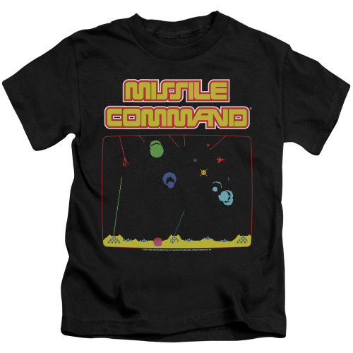 Image for Atari Kids T-Shirt - Missile Command Screen
