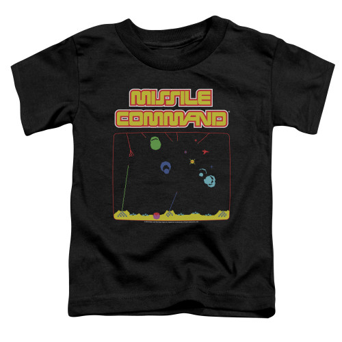 Image for Atari Toddler T-Shirt - Missile Command Screen