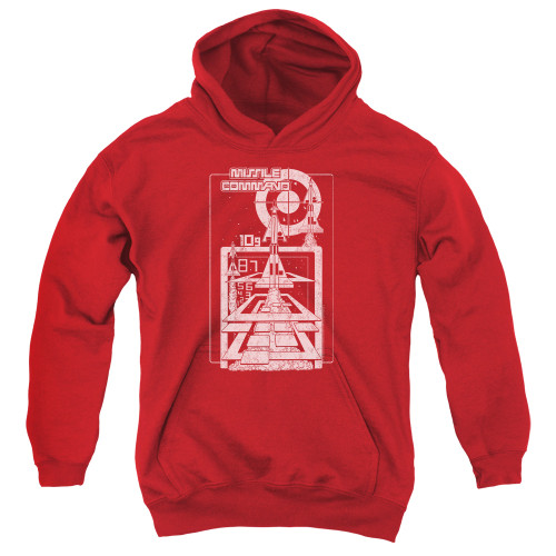Image for Atari Youth Hoodie - Missile Command Lift Off