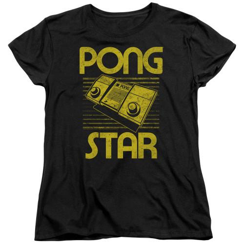 Image for Atari Woman's T-Shirt - Pong Star