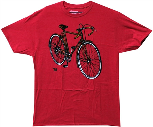 Image Closeup for Ames Bros Sweet Bike T-Shirt