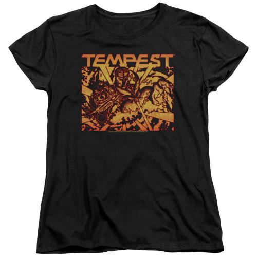 Image for Atari Woman's T-Shirt - Tempest Demon Reach