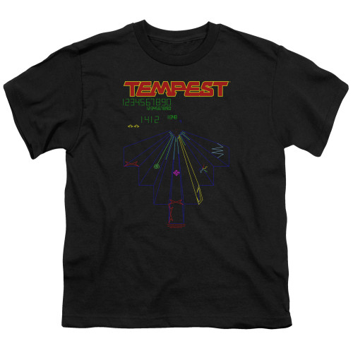 Image for Atari Youth T-Shirt - Tempest Screen