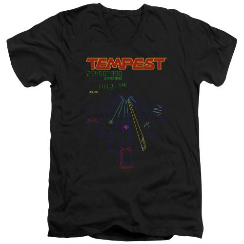 Image for Atari V-Neck T-Shirt - Tempest Screen
