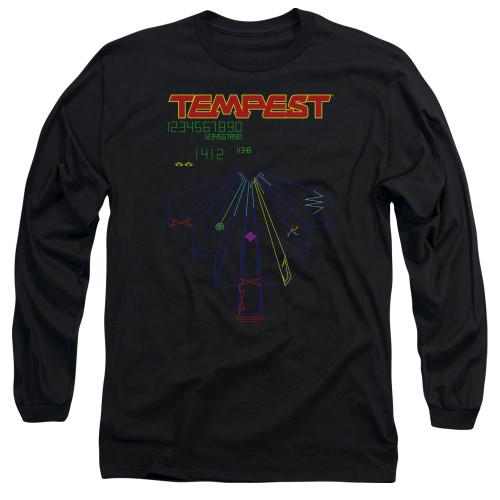 Image for Atari Long Sleeve T-Shirt - Tempest Screen