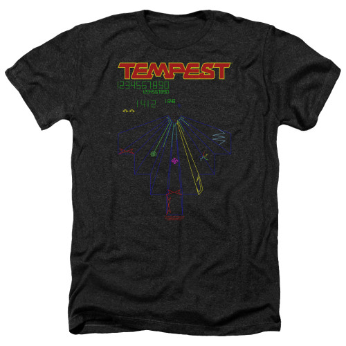 Image for Atari Heather T-Shirt - Tempest Screen