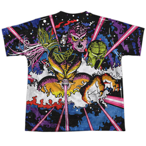 Image for Atari Sublimated Youth T-Shirt - Tempest Key Art 100% Polyester