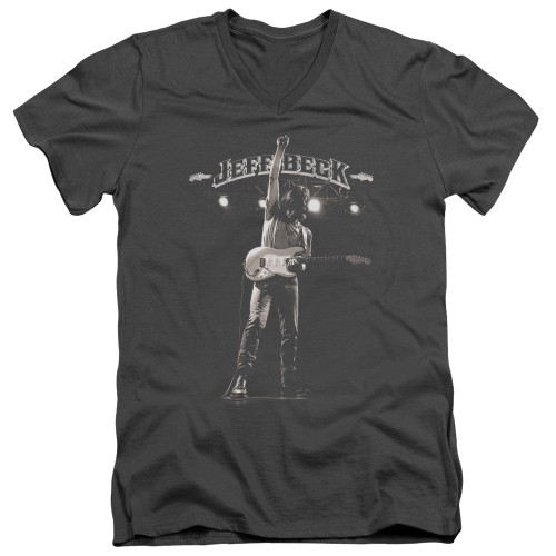 Image for Jeff Beck V Neck T-Shirt - Guitar God