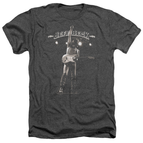 Image for Jeff Beck Heather T-Shirt - Guitar God