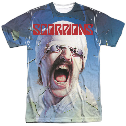 Image for Scorpions Sublimated T-Shirt - Blackout 100% Polyester