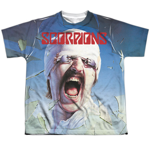 Image for Scorpions Sublimated Youth T-Shirt - Blackout 100% Polyester