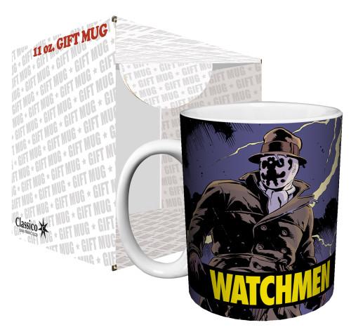 Image for The Watchmen Rorschach Comic Coffee Mug