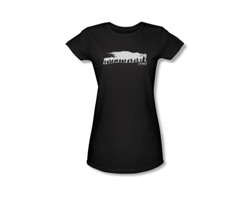 Image Closeup for The Hobbit Girls T-Shirt - the Dwarf Company
