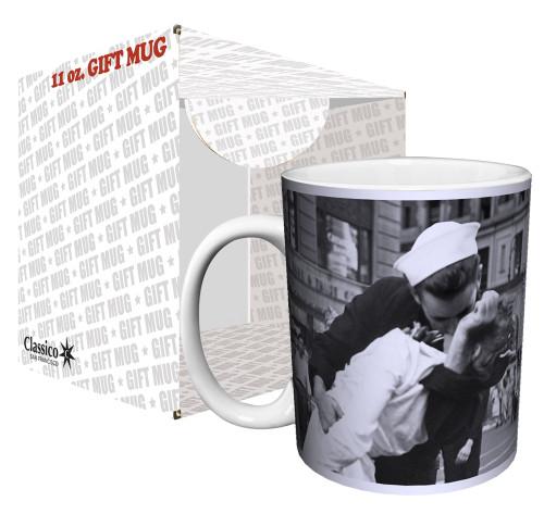 Image for War's End Kiss Coffee Mug
