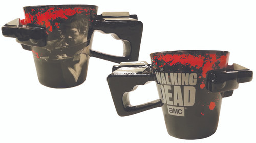 Image for The Walking Dead Coffee Mug - Cross Bow Molded Handle