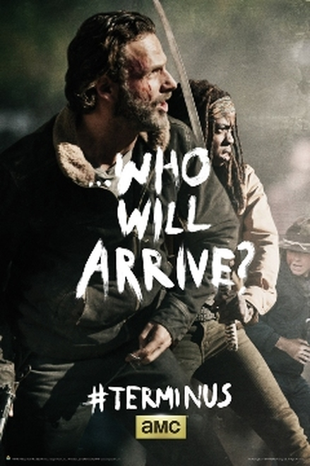 Image for Walking Dead Poster - Terminus Rick & Michone