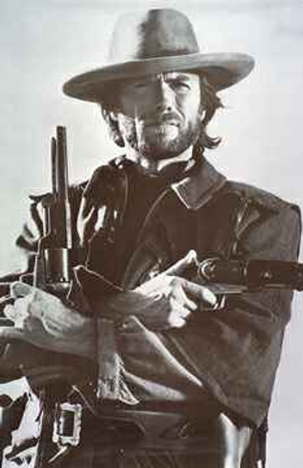 Image for Clint Eastwood Poster - Guns Drawn
