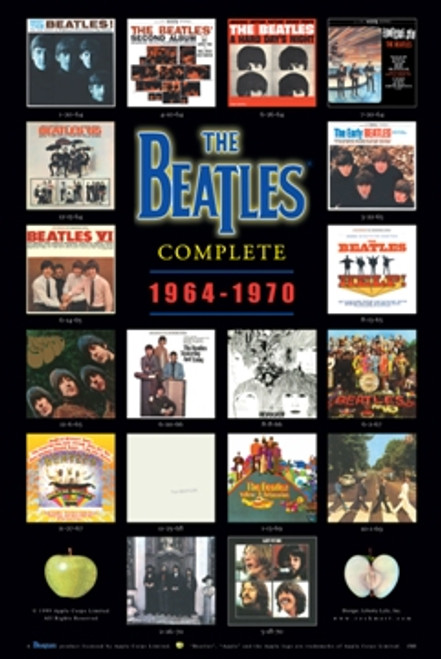 Image for The Beatles Poster - Albums