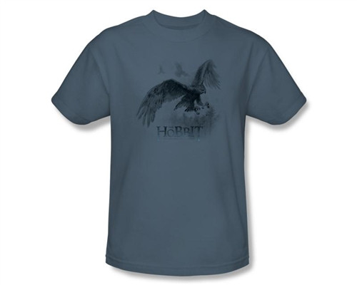 Image Closeup for The Hobbit Great Eagle Sketch T-Shirt