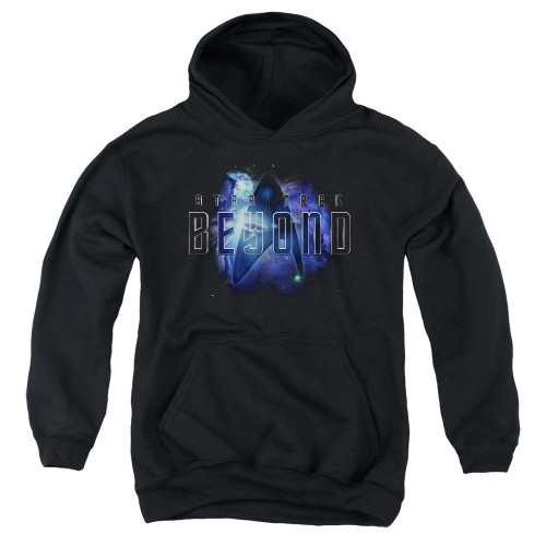 Image for Star Trek Beyond Youth Hoodie - Galaxy Logo