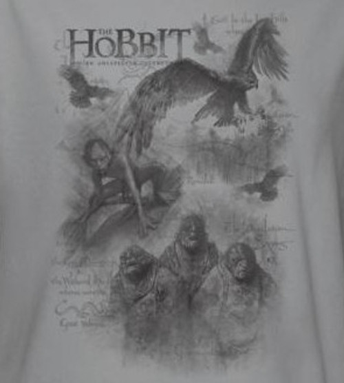 Image for The Hobbit Sketches long sleeve T-Shirt