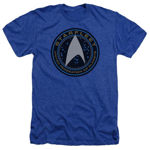 Image for Star Trek Beyond Heather T-Shirt - Starfleet Patch