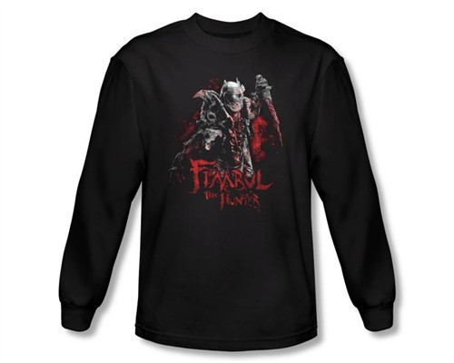 Image Closeup for The Hobbit Fimbul the Hunter long sleeve T-Shirt