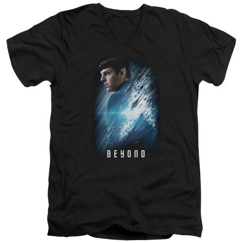 Image for Star Trek Beyond V Neck T-Shirt - Spock Poster