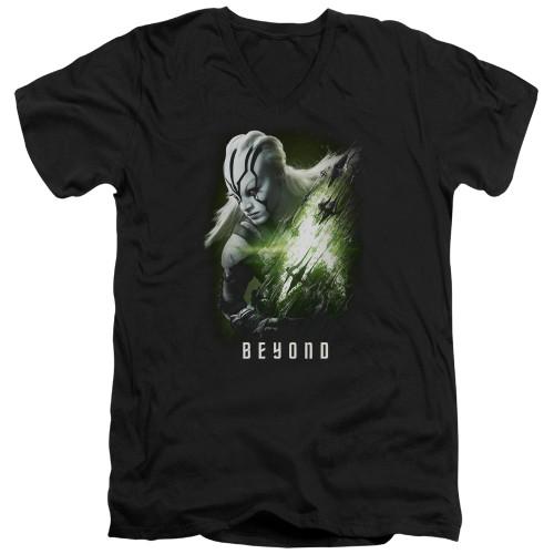 Image for Star Trek Beyond V Neck T-Shirt - Jaylah Poster