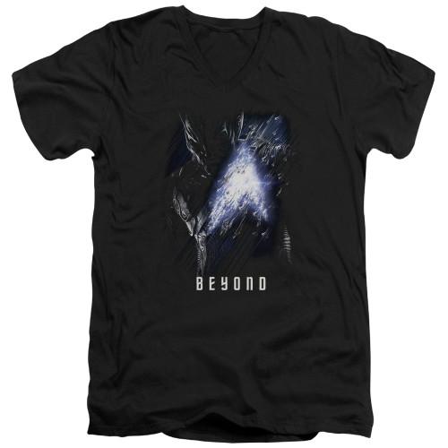 Image for Star Trek Beyond V Neck T-Shirt - Krall Poster