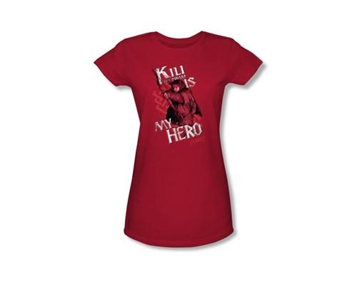 Image Closeup for The Hobbit Girls T-Shirt - Kili is My Hero