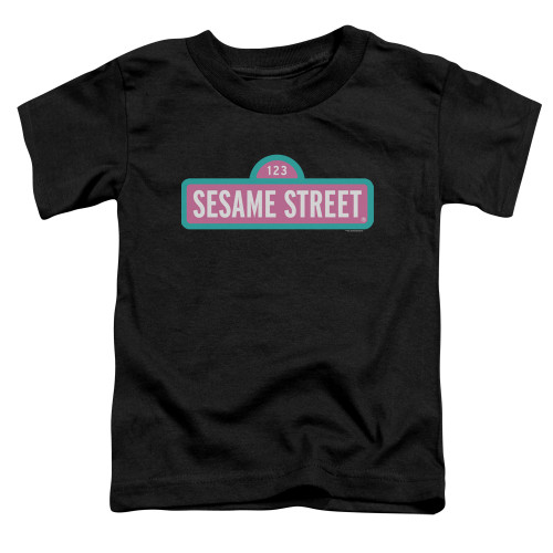 Image for Sesame Street Toddler T-Shirt - Alt Logo
