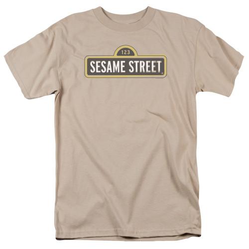 Image for Sesame Street T-Shirt - Tilted Logo