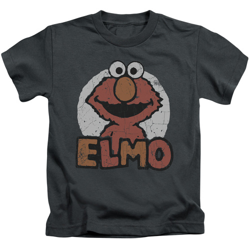 Image for Sesame Street Kids T-Shirt - Elmo Name