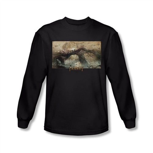 Image for The Hobbit Desolation of Smaug Epic Journey long sleeve T-Shirt