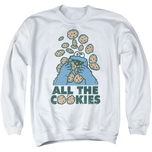 Image for Sesame Street Crewneck - Cookie Monster All the Cookies